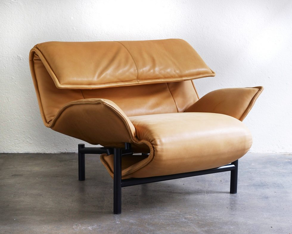 veranda lounge chair by vico magistretti – espacemoderne