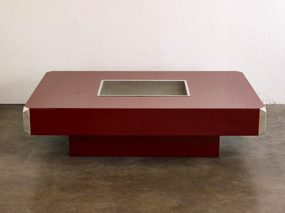 Willy Rizzo Coffee Table.Alveo Coffee Table By Willy Rizzo Espacemoderne