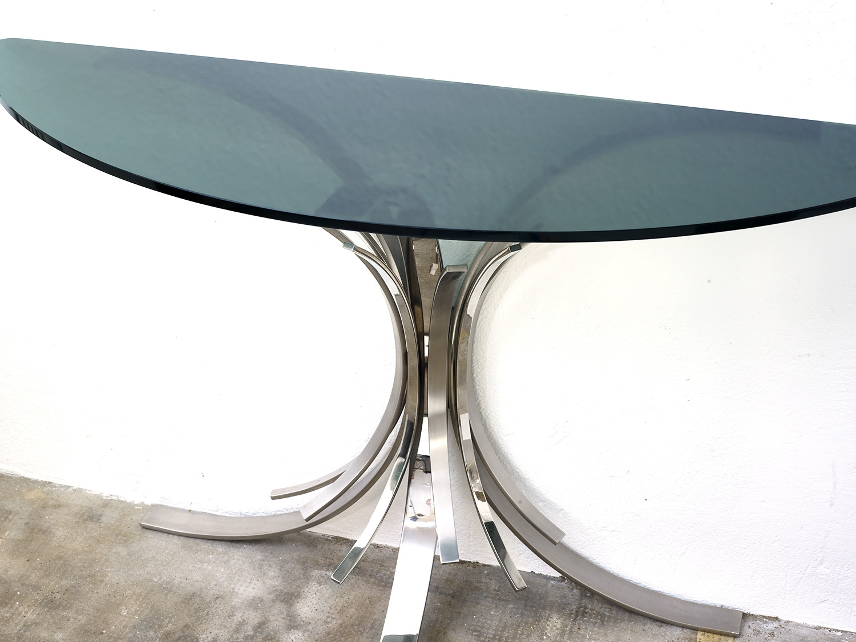 console-gerbe-de-maria-pergay-pour-design-steel-1972-image-05